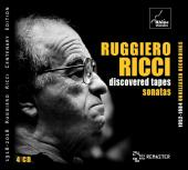 Album artwork for Ruggiero Ricci - Discovered Tapes - Sonatas 4-CD