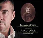 Album artwork for La donna è mobile: Famous Tenor Arias by Verdi