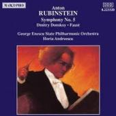Album artwork for Rubinstein: Symphony #5, Faust, Dmitry Donskoy