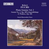 Album artwork for Fuchs: Piano Sonatas vol.2