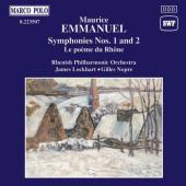 Album artwork for Emmanuel: Symphonies 1 & 2