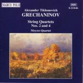Album artwork for Grechaninov: String Quartets 2 & 4
