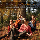 Album artwork for PIANO QUARTETS