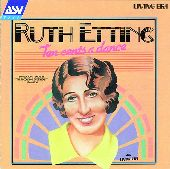 Album artwork for Ruth Etting: Ten Cents A Dance (1926-1930)