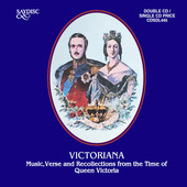 Album artwork for Victoriana: Music, Verse and Recollections from th