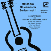 Album artwork for Matchbox Bluesmaster Series, Vol. 1: Country Blues