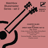 Album artwork for Matchbox Bluesmaster Series, Vol. 2: Country Blues