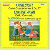 Album artwork for Khachaturian, Kabalevsky, Glazunov- Cello works