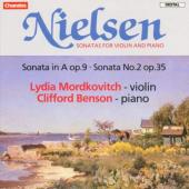 Album artwork for Nielsen: Violin Sonatas