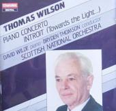 Album artwork for Wilson: Piano Concerto, Introit / Wilde, Thomson
