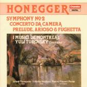Album artwork for Honegger: Symphony #2, Concerto da Camera, etc