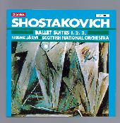 Album artwork for Shostakovich: BALLET SUITES 1, 2 & 3