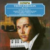 Album artwork for Tedd Joselson plays De Falla & Orbon