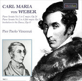 Album artwork for Weber: Piano Sonatas Nos. 1-2 - Invitation to the