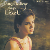 Album artwork for DARIA TELIZYN PLAYS LISZT