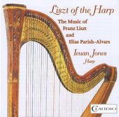 Album artwork for Liszt of the Harp