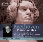 Album artwork for Beethoven: Piano Sonatas, Vol. 7