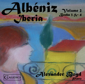 Album artwork for Albéniz: Iberia, Vol. 2 / Boyd