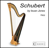 Album artwork for Schubert Arranged for Harp