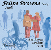 Album artwork for Beethoven, Brahms & Liszt: Piano Music, Vol. 3