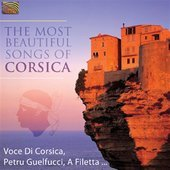 Album artwork for Corsica: The Most Beautiful Songs