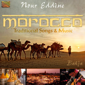 Album artwork for MOROCCO - TRADITIONAL SONGS & MUSIC