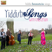 Album artwork for Bronstein w/ Chutzpah!: Yiddish Songs