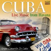 Album artwork for Cuba: Live Music from Havana
