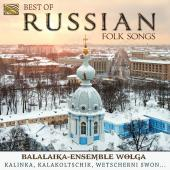 Album artwork for Best of Russian Folk Songs