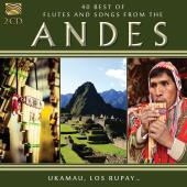 Album artwork for 40 BEST FLUTES & SONGS from the Andes