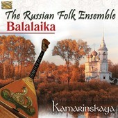 Album artwork for The Russian Balalaika Folk Ensemble