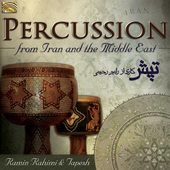 Album artwork for Percussion from Iran and the Middle East