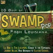 Album artwork for 20 Best of Swamp Pop from Louisiana