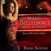 Album artwork for Modern Bellydance from Lebanon: Queen of the Deser
