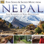 Album artwork for Folk Songs & Sacred Music from Nepal: Field Record