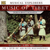 Album artwork for Music of Tibet