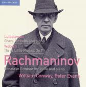 Album artwork for WILLIAM CONWAY PLAYS RACHMANINOV