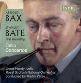 Album artwork for Bax - Bate: Cello Concertos