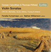 Album artwork for Doreen Carwithen & Thomas Pitfield: Violin Sonatas