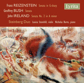 Album artwork for Reizenstein, Bush & Ireland: Violin Sonatas