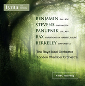Album artwork for Benjamin - Stevens - Panufnik - Bax - Berkeley