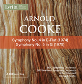 Album artwork for Cooke: Symphonies Nos. 4-5