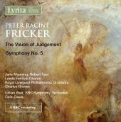 Album artwork for Fricker: The Vision of Judgement - Symphony No. 5