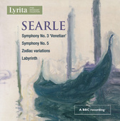 Album artwork for Searle: Orchestral Works