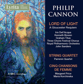 Album artwork for Cannon: Lord of Light, String Quartet & 5 Chansons