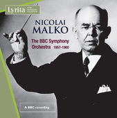 Album artwork for Nicolai Malko conducts the BBC Symphony Orchestra