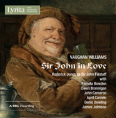 Album artwork for Vaughan Williams: Sir John in Love