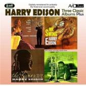 Album artwork for HARRY EDISON - THREE CLASSIC ALBUMS PLUS