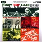 Album artwork for Henry Red Allen: Three Classic Albums Plus (2CD)