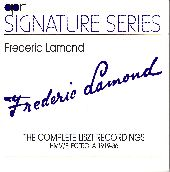 Album artwork for Frederic Lamond:  The Complete Liszt Recordings HM